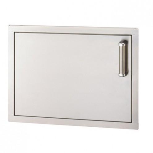 FireMagic 53917SC-L Flush Stainless Steel Single Access Left Swing Door
