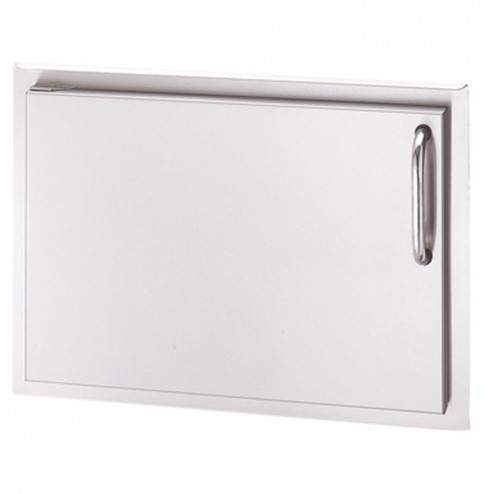 "FireMagic 33924-SL Stainless Steel Single Access Door, Left Swing, 25"" x 17"""