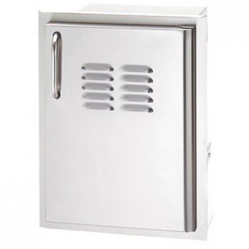 FireMagic 33920-1-SR Stainless Steel Single Access Right Swing Door w/louvers