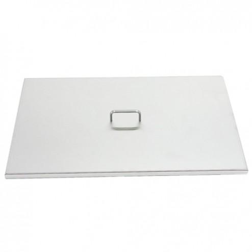 FireMagic 3279-07 Stainless Steel Grid Cover for Single Side Burner