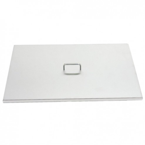 FireMagic 3281-07 Stainless Steel Grid Cover for Double Side Burner