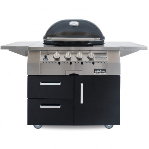 Primo Oval G420 Ceramic Gas Grill, LP