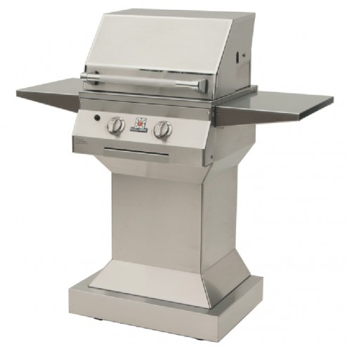 """Solaire SOL-IRBQ-21GIRXL-PED-LP 21"""" LP Deluxe Infrared Grill on Pedestal"""
