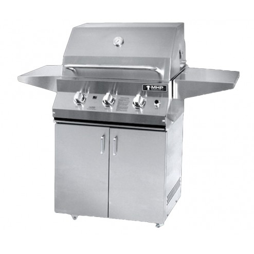 MHP MHPLX26G-P-MHPLX26CBP LP LX Series Cart Grill