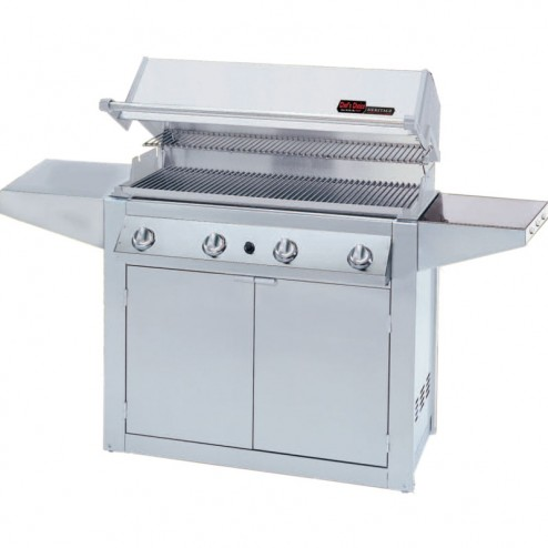 MHP Heritage Series GJK 3 Stainless Steel Gas Grill