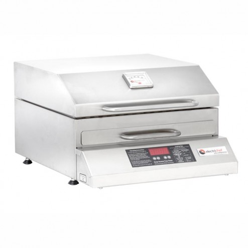 Electri-Chef Safire 115V Stainless Steel Barbecue Grill