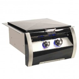 FireMagic 19-HB0N-0 Diamond Black/SS Built-in Power Nat-Gas Burner