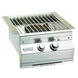FireMagic 19SLB1N0 Aurora style w/Cast Brass Burner & Stainless Steel Grid