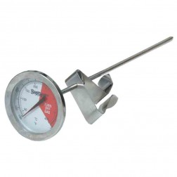 """Bayou Classic 5025 12"""" Stainless Thermometer - carded"""