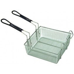 Bayou Classic 700-189 Large Stainless Basket fits 4 and 9-Gal