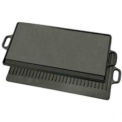 Bayou Classic 7428 Cast Iron Reversible Griddle