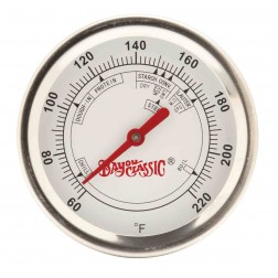 """Bayou Classic 800-772 12"""" Brew Thermometer with clip"""