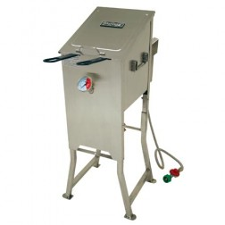 Bayou Classic 700-701 4-Gal Fryer w/2 Stainless Baskets