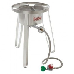 "Bayou Classic SS50 14"" Tall LP Outdoor Cooker"