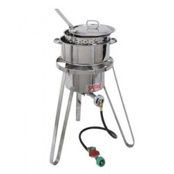 Bayou Classic 1135 Fish Cooker Set w/ Stainless steel Fry Pot