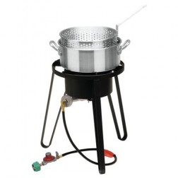 Bayou Classic B135 LP Fish Cooker Set w/Aluminum Fry Pot
