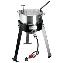Bayou Classic 2212 LP Fish Cooker Set w/Aluminum Fry Pot