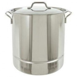 Bayou Classic 1308 8-Gal Tri-Ply Stockpot w/Vented Lid