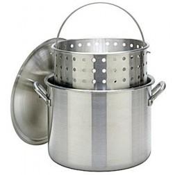 Bayou Classic 1200 120-Qt Boiler Stockpot & full size Basket