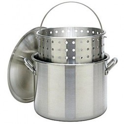 Bayou Classic 1600 160-Qt Boiler Stockpot & full size Basket