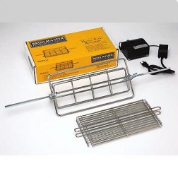 Broilmaster DPA11 Hugga-Rack Rotisserie with Flat Basket