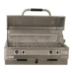 "Electri-Chef 4400 Series 32"" Island Built-In Barbecue Grill w/ Dual Temp. Control"