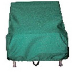 """Electri-Chef Hunter Green 16"""" Cover for Table Top Grills"""