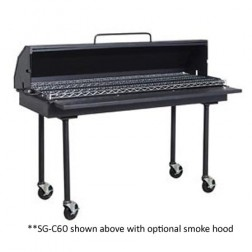 """Flagro Inferno SG-C60 60"""" Charcoal Barbecue Grill"""