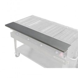 "Flagro  Silver Giant 72"" Stainless Front Shelf"