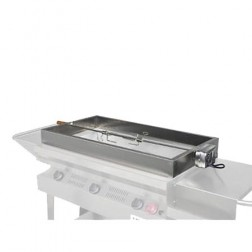 "Flagro Silver Giant 36"" Stainless Rotisserie Kit"