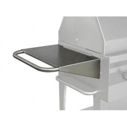 "Flagro Silver Giant 21"" Stainless Side Shelf"