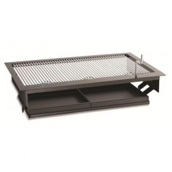 "FireMagic Firemaster 23"" Counter-top Built-In Charcoal BBQ Grill"