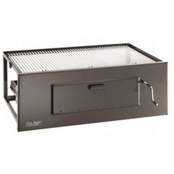"FireMagic 30"" Lift-A-Fire Classic Built In Charcoal BBQ Grill"