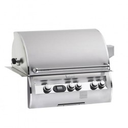 FireMagic Echelon Diamond E660I-4E1N-W NG Built-in BBQ Grill Head w/Window