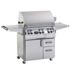 FireMagic Echelon Diamond E660S-4E1P-62 Propane Barbecue Grill w/Single Side Burner