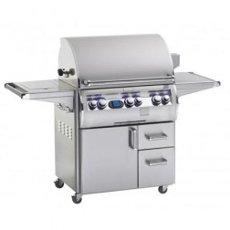 FireMagic Echelon Diamond E790S-4E1P-62 Propane Barbecue Grill w/Side Burner