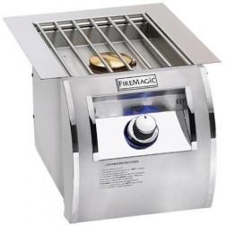 FireMagic 32794-1 Echelon Diamond Stainless Steel Built-In NG Single Sideburner