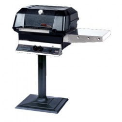 MHP JNR4DD-N-MPB NG Patio Post Mount Grill