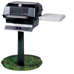 MHP JNR4-N-MPP Nat-gas NG In Ground Post Grill
