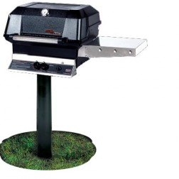 MHP JNR4DD-PS-MPP LP In Ground Post Grill