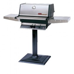 MHP TJK2-NS-MPB NG Patio Post Mount Grill