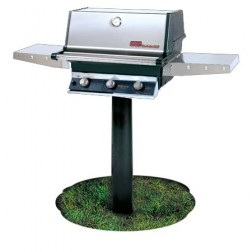 MHP THRG2-NS-MPP NG Hybrid In Ground Post Mount  Grill