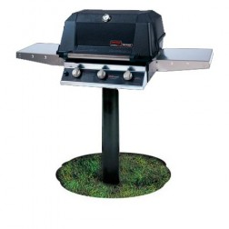 MHP WRG4DD-PS-MPP LP Infrared In Ground Post Mount Grill