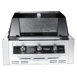 MHP WRG4DD-NS-NMS2-GS NG Infrared Built-in Grill