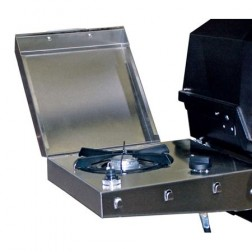 MHP SBA2-N 12,000 BTU S.S. Side Burner-Nat-gas Gas