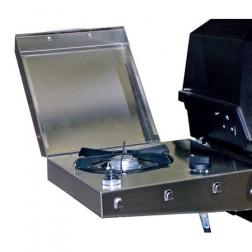 MHP SBA2-P 12,000 BTU S.S. Side Burner-Propane LP