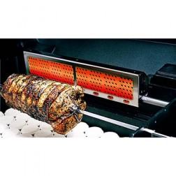 MHP RRB36-N Rear Rotisserie Burner for GJK Nat-gas Gas Cart