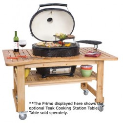 Primo 778 Oval XL Barbecue Grill & Smoker