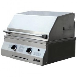 "Solaire SOL-AGBQ-27GVI-LP 27"" LP InfraVection Built-In Grill"
