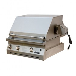 "Solaire SOL-AGBQ-30-NG 30"" NG Convection Built-In Grill"